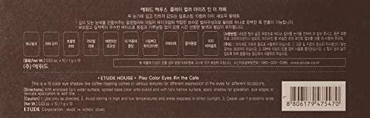 ETUDE HOUSE Play Color Eyes in the Cafe [Limited Edition]