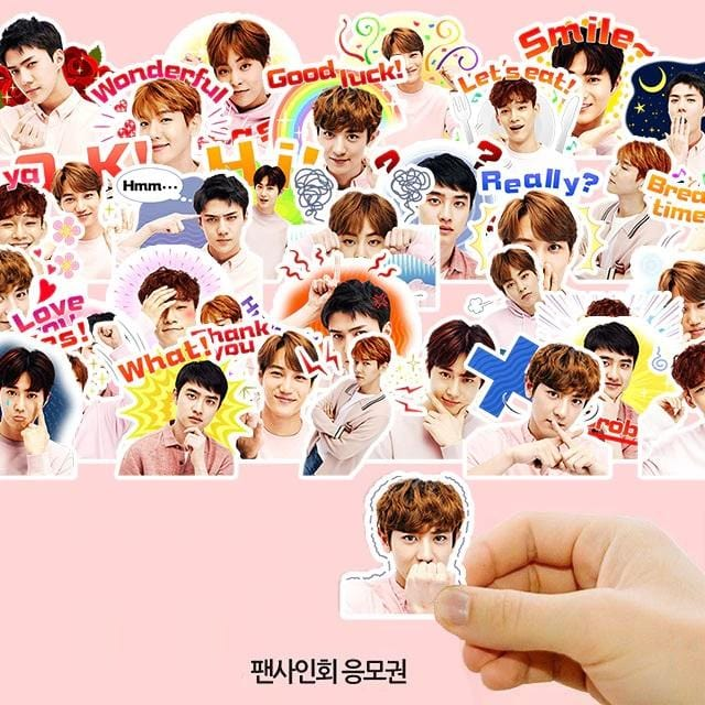 EXO Greetings Stickers - 40pc Set