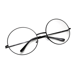 Circle Frame Clear Lens Glasses