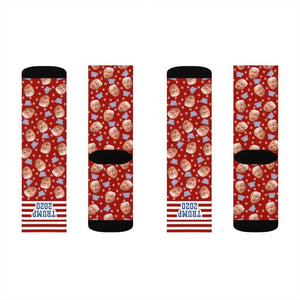 Trump 2020 Socks - Red