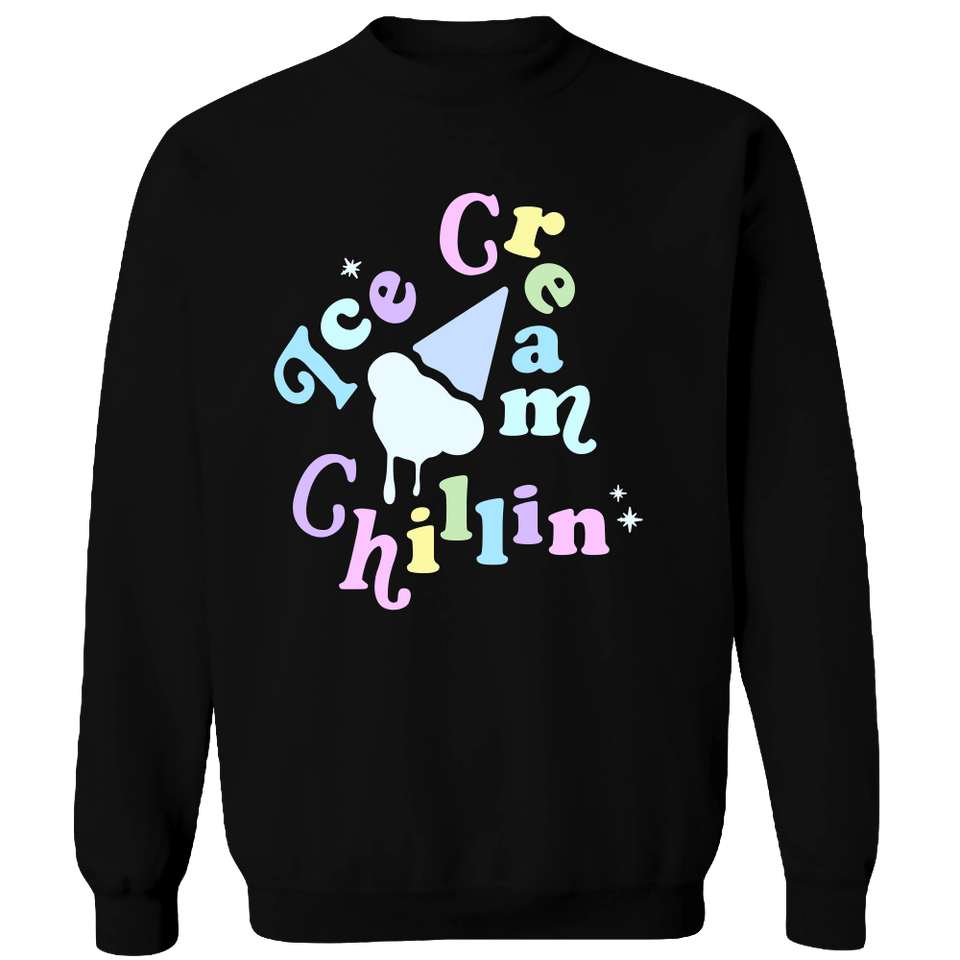 BLACKPINK Ice Cream Chillin Crewneck Sweatshirt