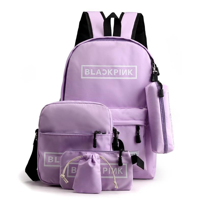 Blackpink Backpack 5-pc Set
