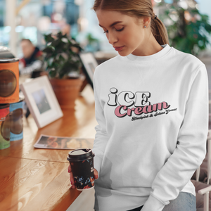 BLACKPINK Ice Cream Logo Sweatshirt