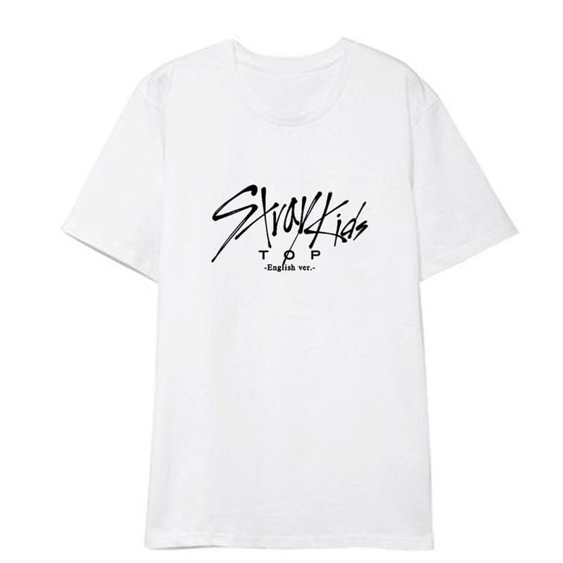 Stray Kids TOP-English ver T-shirt