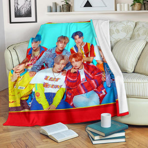 Ateez Blanket Version 2