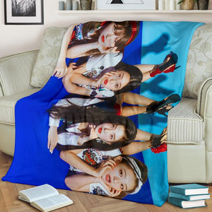 Red Velvet Power Up Blanket