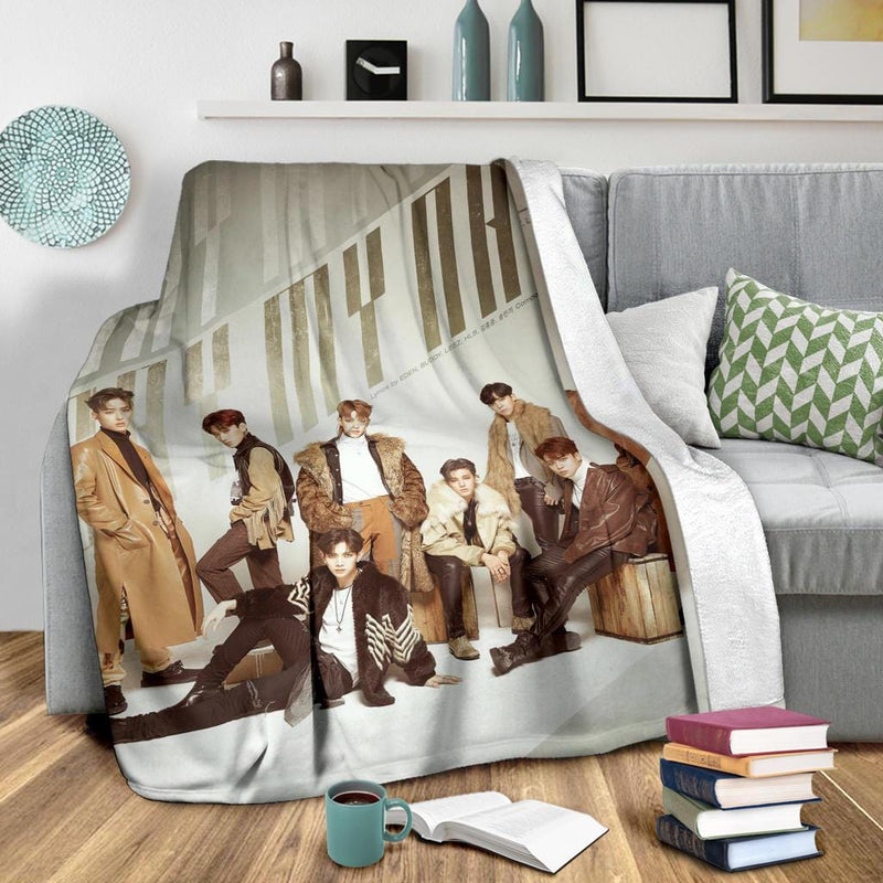 Ateez Blanket Version 1