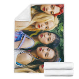 Red Velvet Summer Blanket