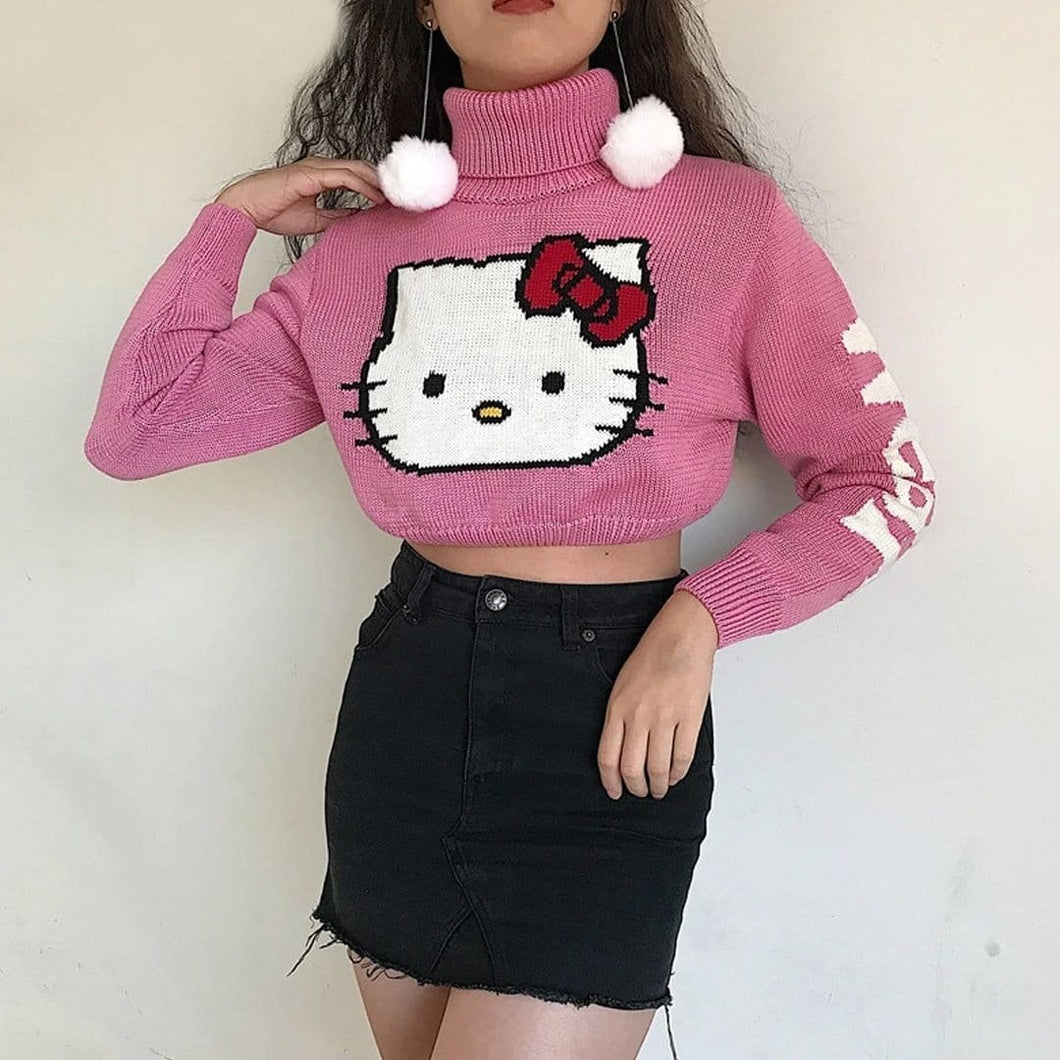 Kitty Pink Sweater