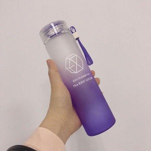 EXO Gradient Frosted Glass Bottle