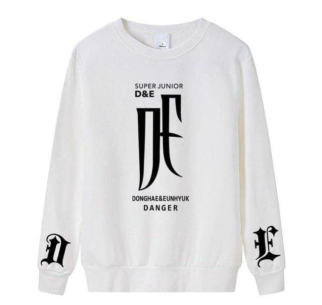 Super Junior D&E Pullover Sweatshirts
