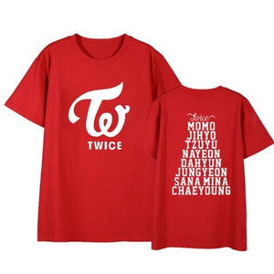 Twice Member Name Shirt