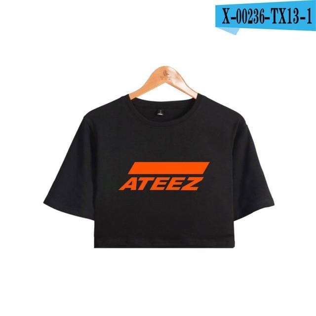 Ateez Crop Top Shirt