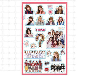 Twice Waterproof  Stickers