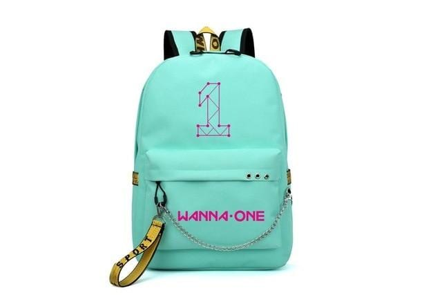 Monsta X Wanna One USB Backpack