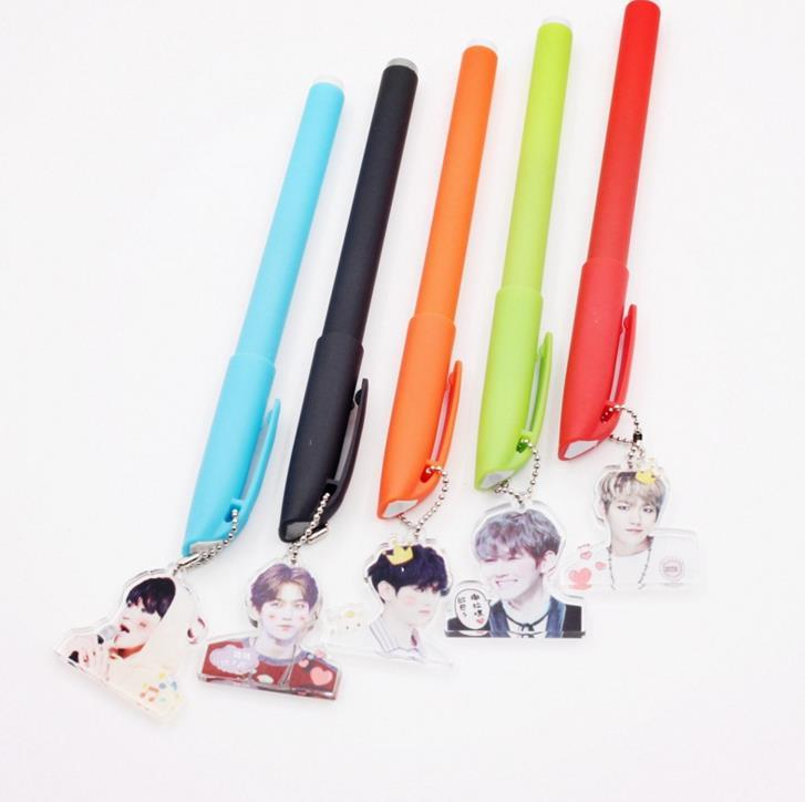 Exo Vibrant Black Ink Gel Pen