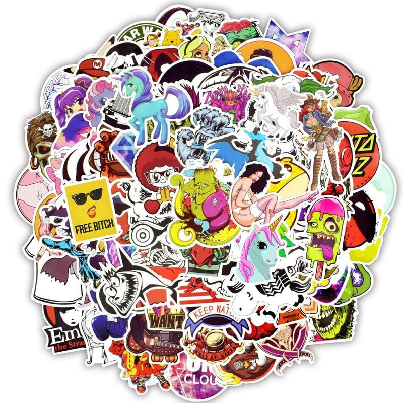 150 pcs. Graffiti Stickers