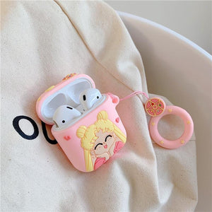 Sailor Moon Silicone Airpods 2 Case