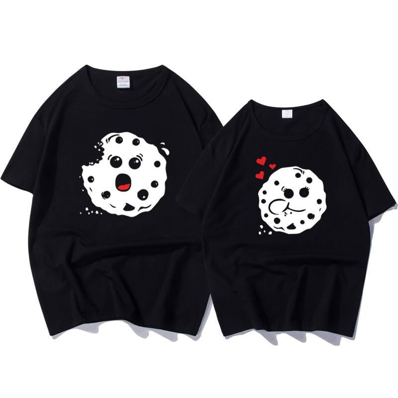 Cookie Bite Couple T-shirt