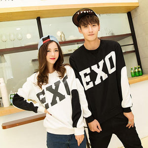 Exo Black White Sweatshirt