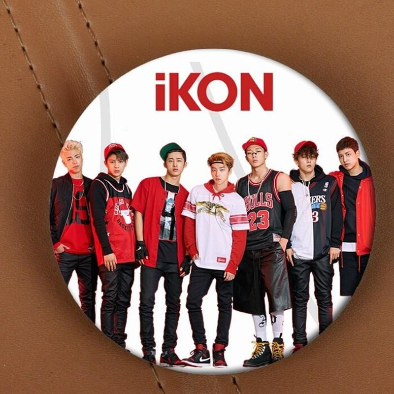 FREE iKON Warm-up Single Pin