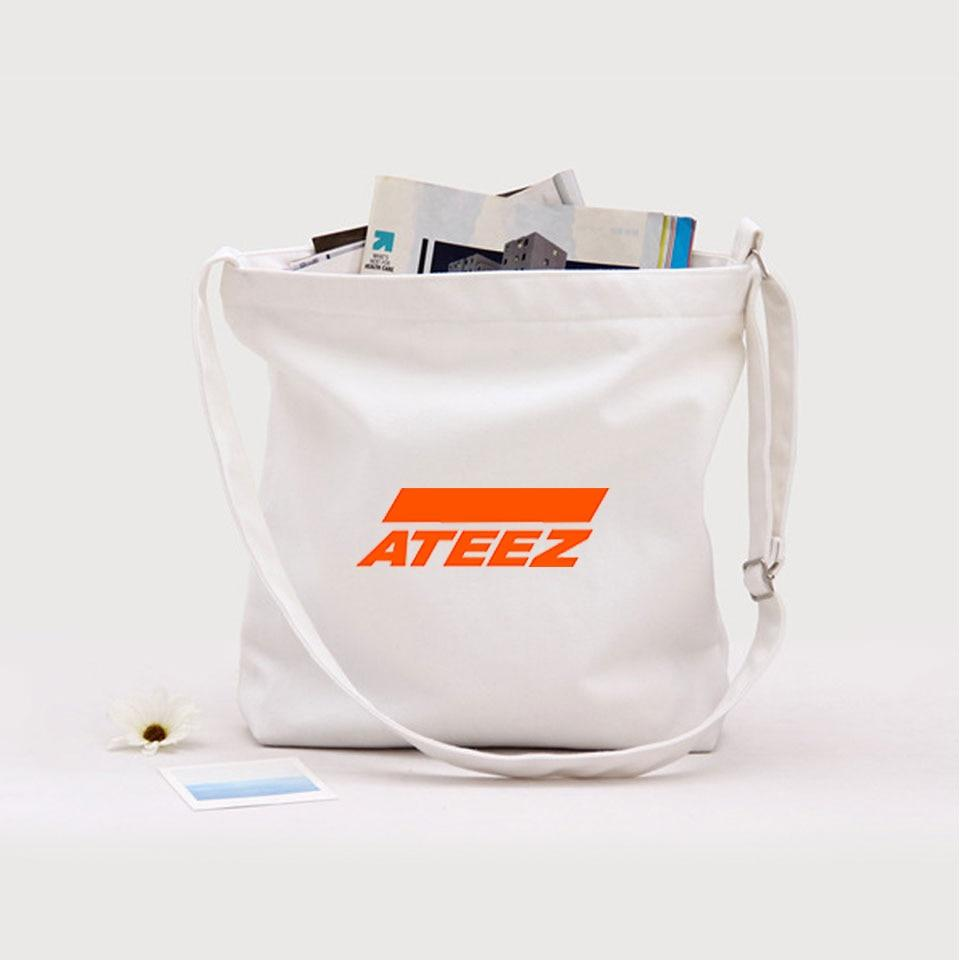 ATEEZ LOGO Canvas Sling Bag
