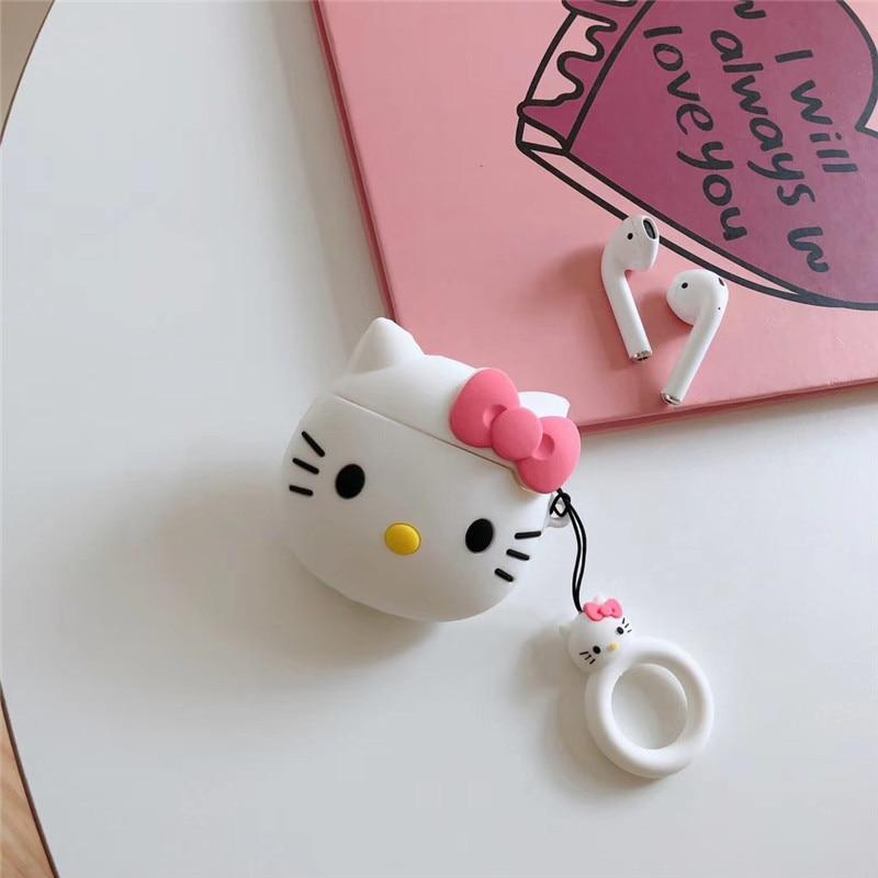 Hello Kitty Silicone AirPods 2Case