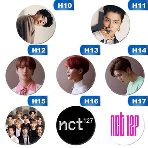 NCT127 Chain Album Badge Pin