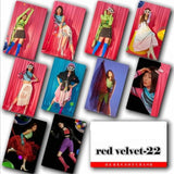 Red Velvet Photocard Sticker - 10Pc Set