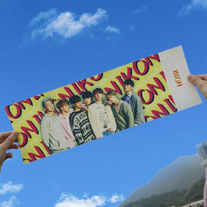 Got7 iKon Red Velvet Concert Support Hand Banner
