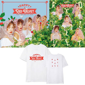 Red Velvet Sappy Album T-shirt