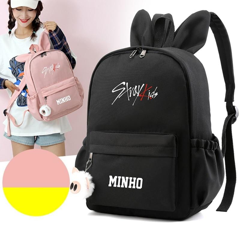 Stray Kids Bias Bunny Ears Backpack