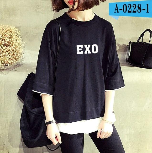 EXO Album Symbol Layered Shirt