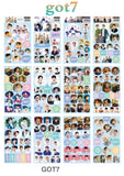 GOT7 Small Stickers - 12pc Set