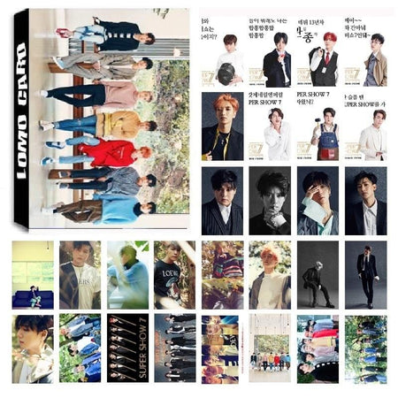 FREE -SUPER JUNIOR ALBUM LOMO CARDS