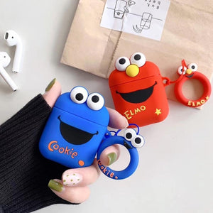 Elmo and Cookie AirPods Case