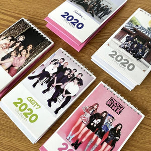 BTS BLACKPINK TWICE GOT7 EXO 2020 Desk Calendar