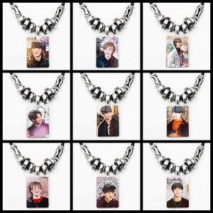 Stray Kids Photo Pendant Necklace