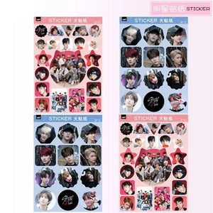 Stray Kids Picture Stickers - 4pc Set