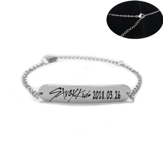 Free Stray Kids Name Birthday Bracelet and Necklace