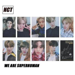Free NCT We Are Superhuman Photocards - 9pc Set