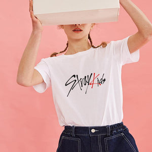 Stray Kids Bias Name T-shirt