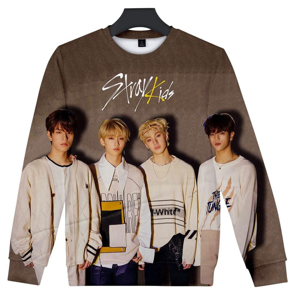 Stray Kids Yellow Wood Sweatshirt