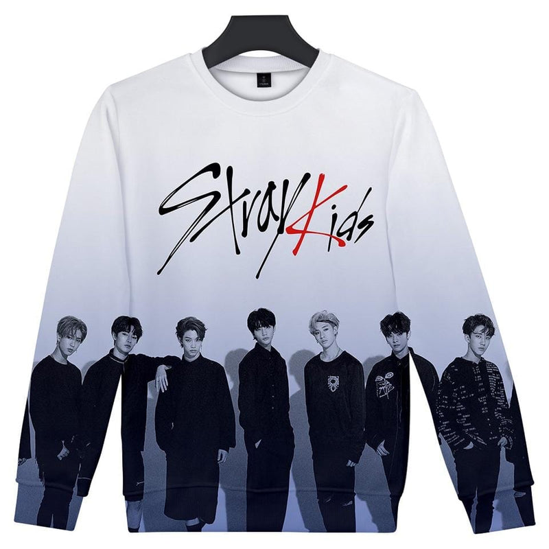 Stray Kids 3D Printed Sweatshirt