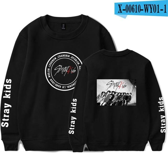 Stray Kids Printed Sweatshirt