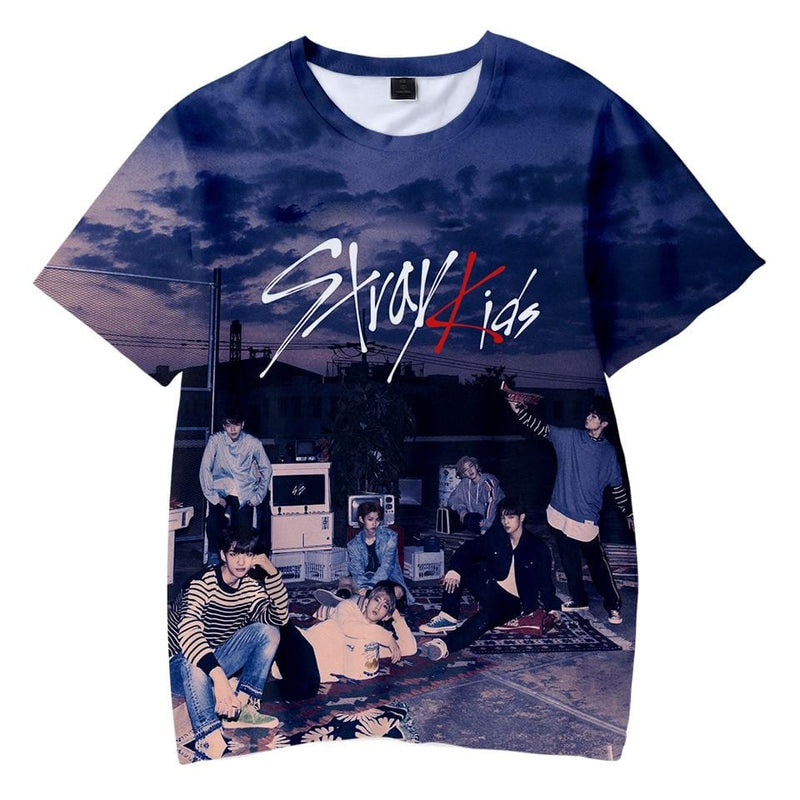 Stray Kids Mixtape 3D T-Shirt for Kids