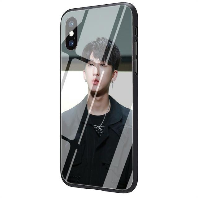 Stray Kids Changbin Tempered Glass iPhone Cover