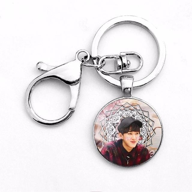 Free Stray Kids Photo Pendant Keychain