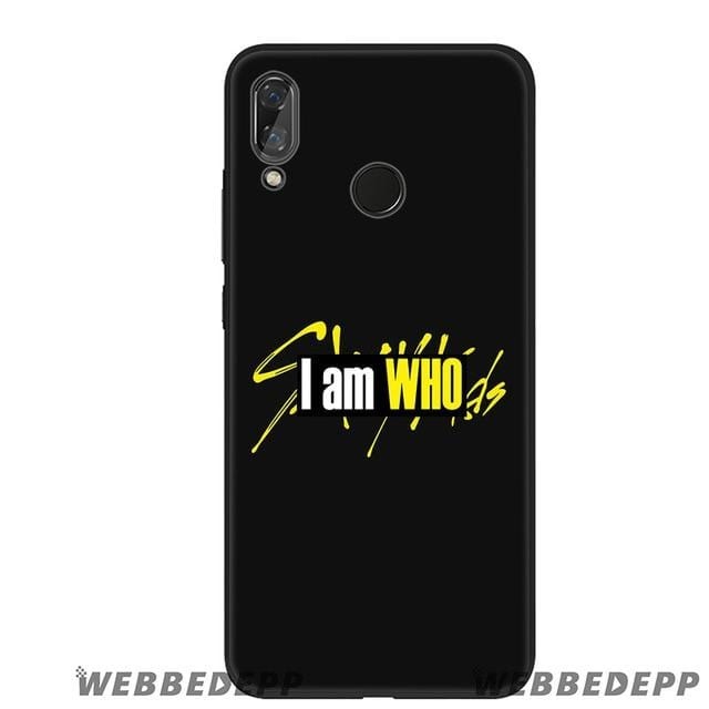 Stray Kids Signature Soft Silicone Phone Case for Huawei