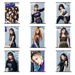 Free TWICE BDZ Hanging Scroll Poster